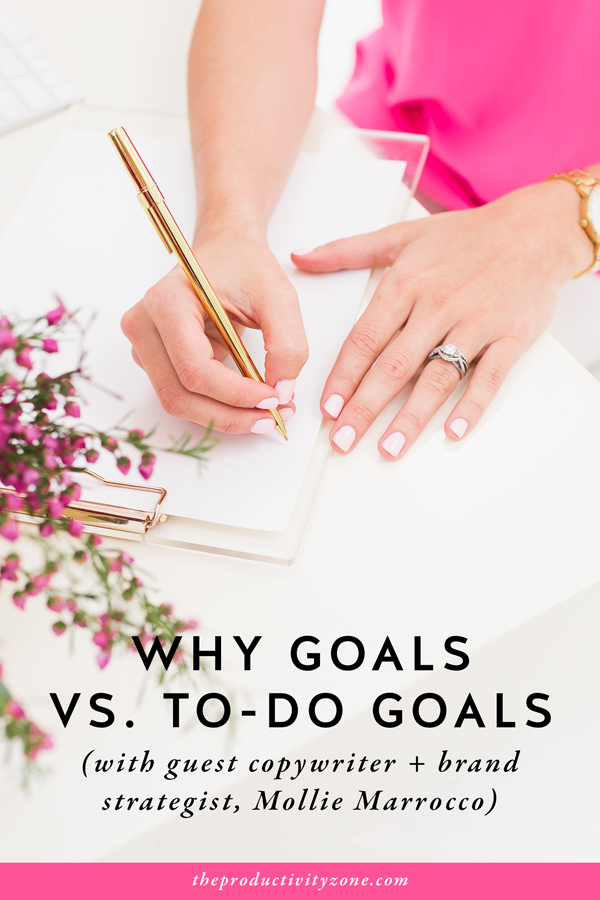 Why Goals vs. To-Do Goals: Why Every Entrepreneur Needs Both