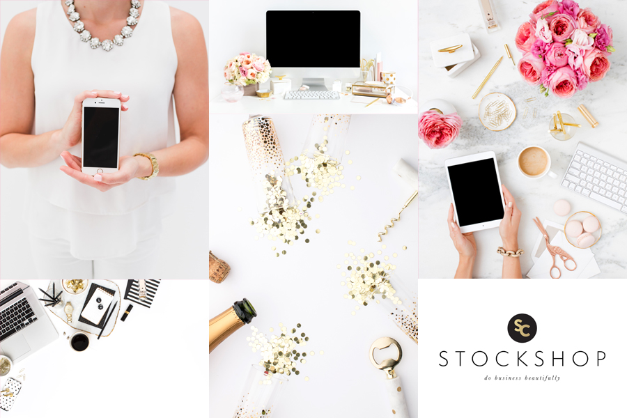 The Best Styled Stock Photography Shops for Female Entrepreneurs: SC Stockshop is THE PLACE for gorgeous, high-quality, feminine styled stock photography!!