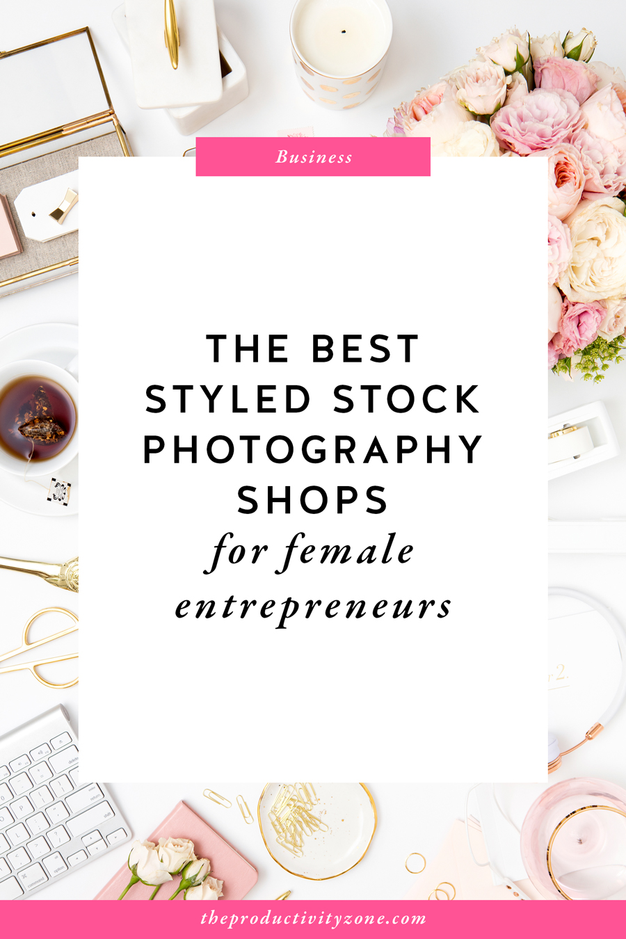 The best styled stock photography shops for female entrepreneurs!! Need I say more?! Find out the only two shops I personally recommend for creative small business owners and bloggers on The Productivity Zone!!