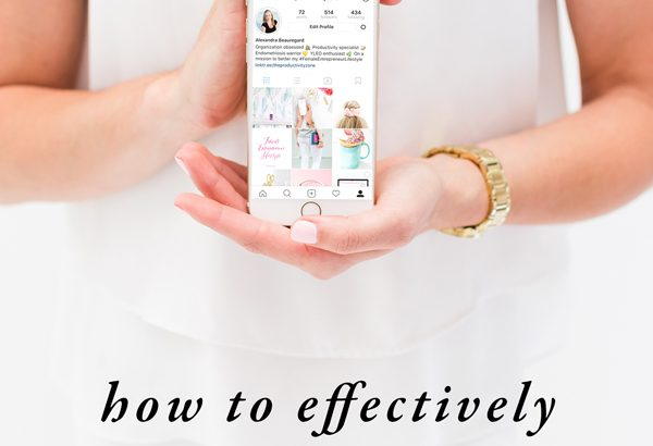 Addicted to technology? It's time to instill healthier habits and better boundaries when it comes to technology (for yourself and your family). Over on The Productivity Zone, I'm sharing 6 of the most effective ways you can cut back on screen time starting today!!