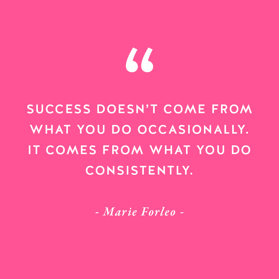 50 quotes to inspire and motivate female entrepreneurs from greats like Marie Forleo on The Productivity Zone!!