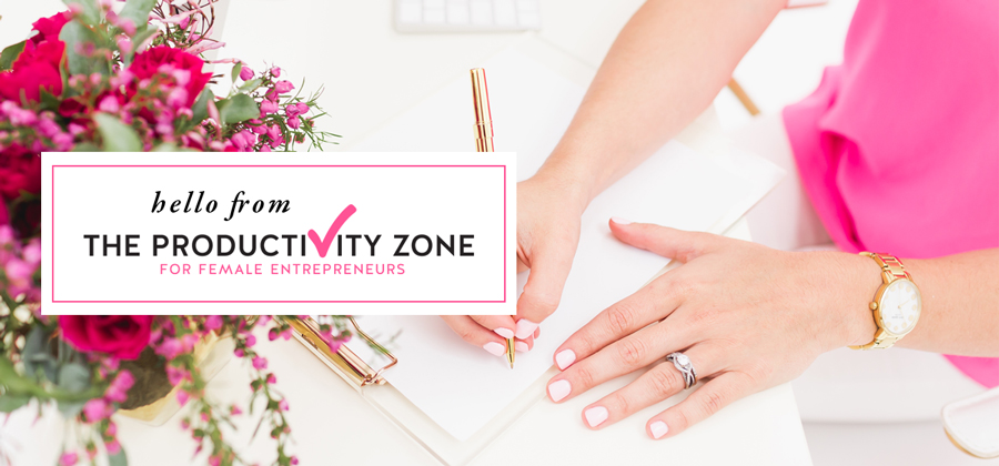 Not sure how to use styled stock photos in your business? Check out these inspiring ideas for your newsletter on The Productivity Zone!!