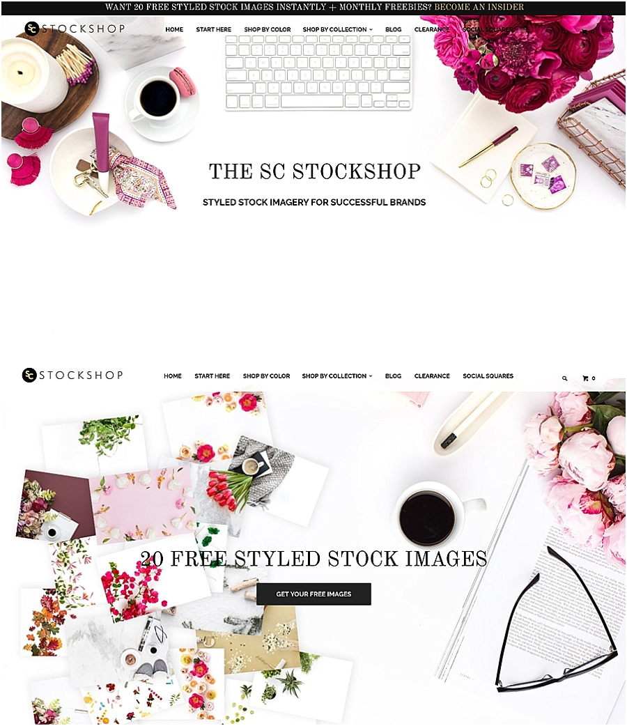 Not sure how to use styled stock photos in your business? Check out these inspiring ideas for your website on The Productivity Zone!!