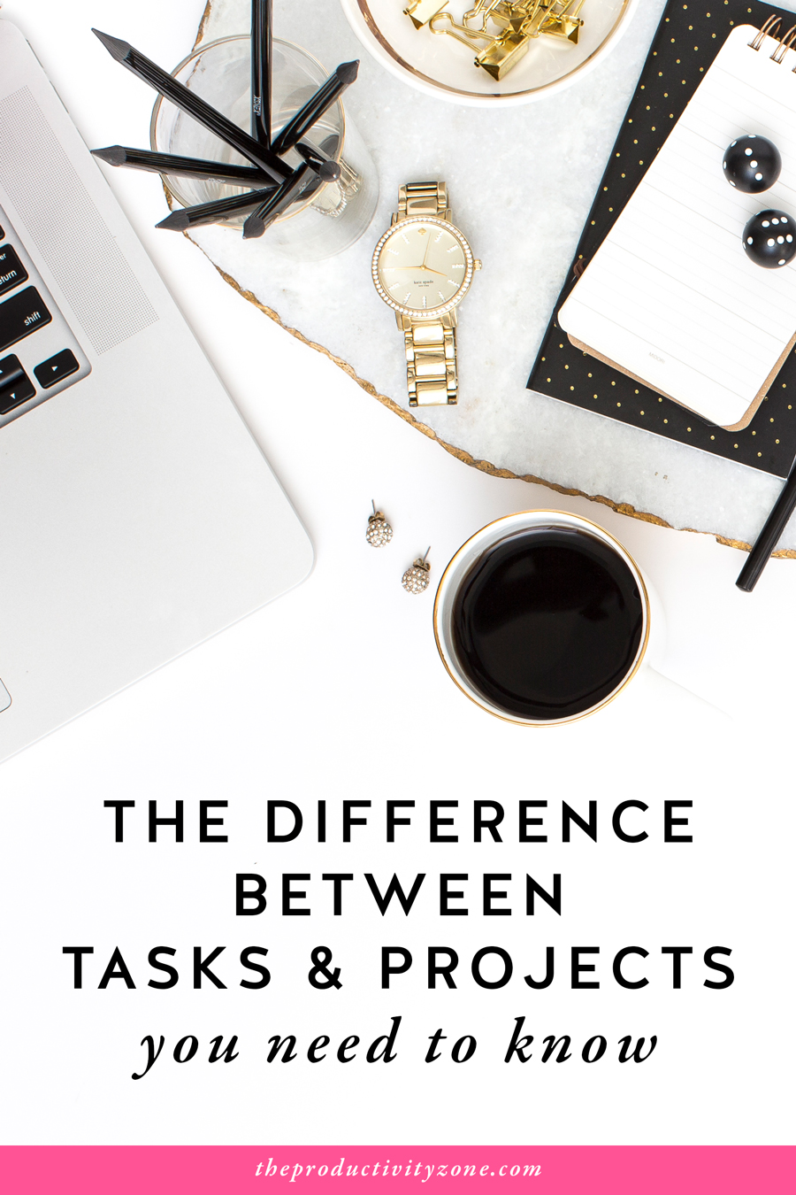 The biggest mistake I see female entrepreneurs make with their calendars and to-do lists is not knowing the difference between tasks and projects. Find out if you're making this mistake and how to fix it on The Productivity Zone!!