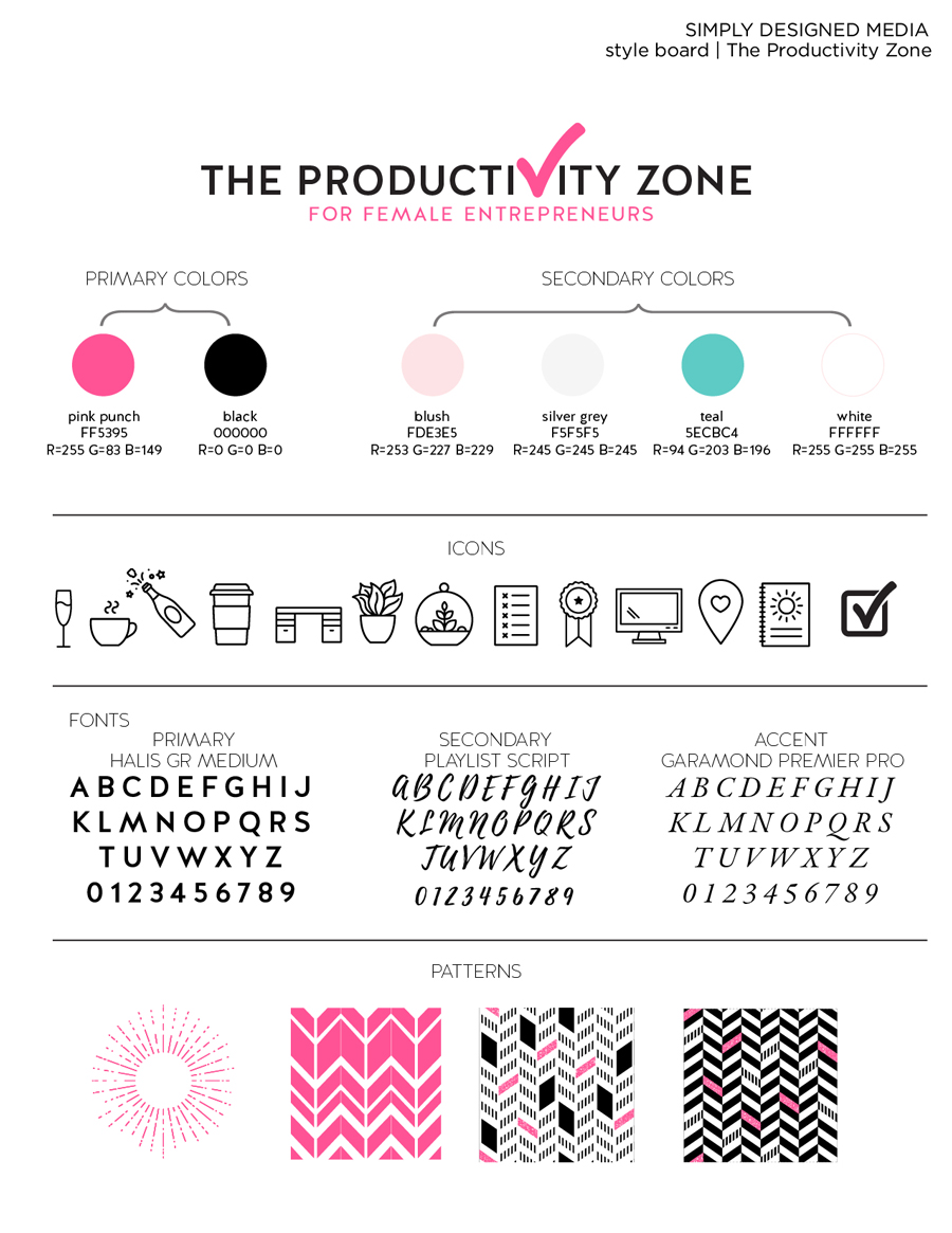 Build your website in just one weekend with my step-by-step planning and preparation process on The Productivity Zone!!