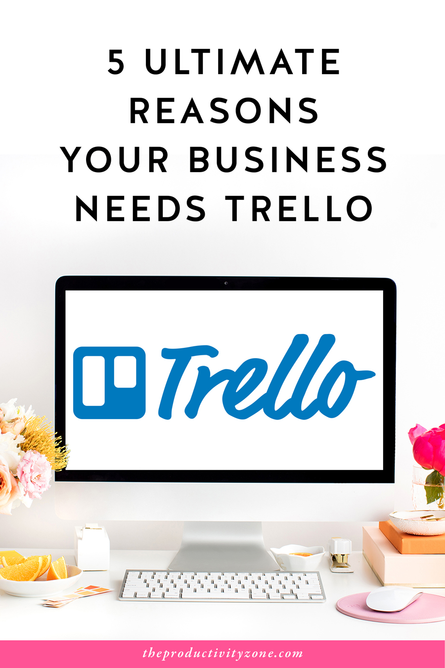 If it needs to be planned, organized, managed, or kept track of in any way, shape, or form, Trello is the project management app to use!! Over on The Productivity Zone, I'm sharing the 5 ultimate reasons your business needs Trello and how you can get instant access to The Essential Trello Start Up Guide!!