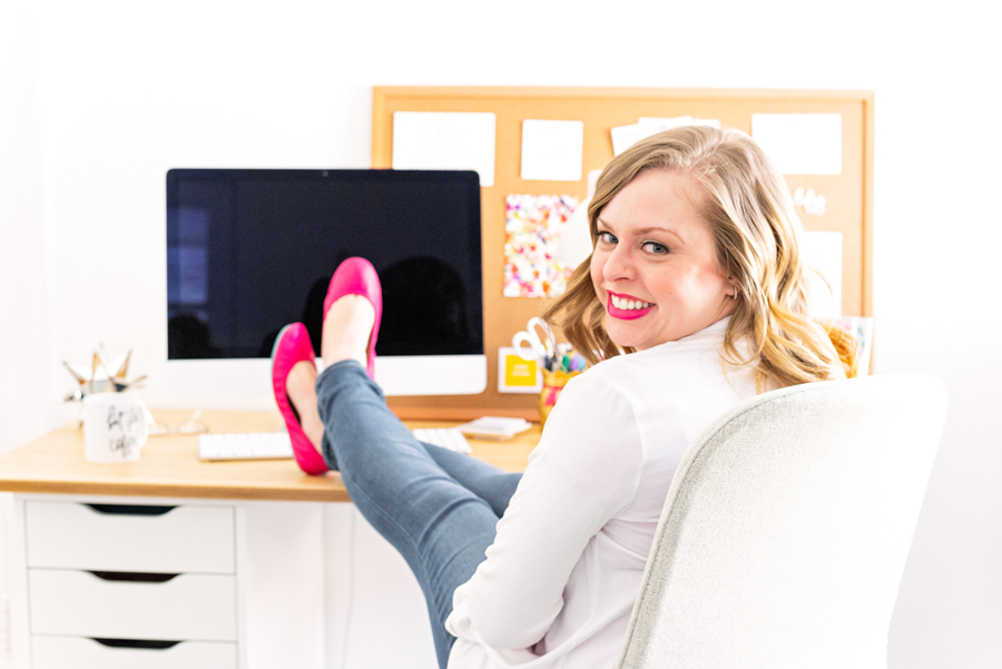 When you work from home, having a space to call your own is vitally important to your productivity. Check out how to set up a workspace you'll actually LOVE on The Productivity Zone!!