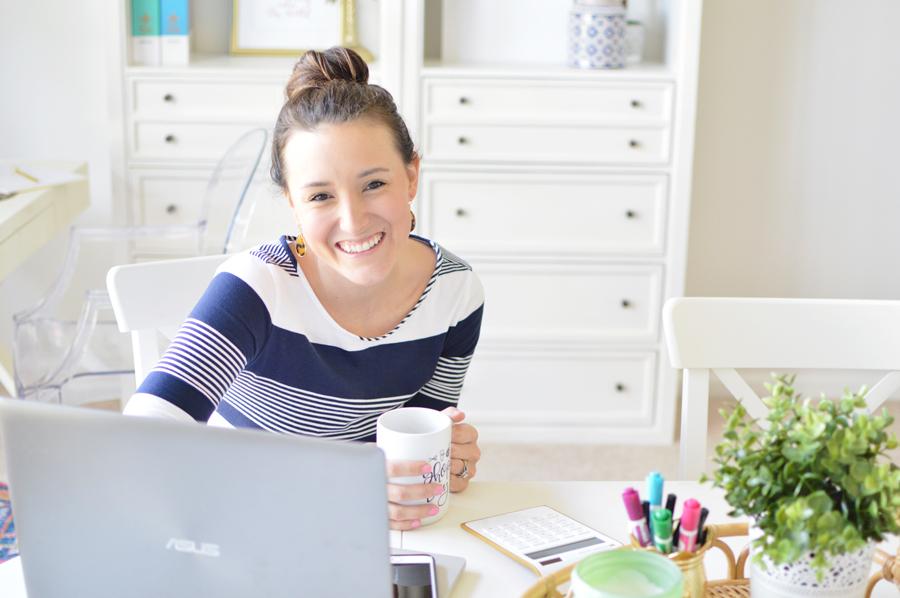 Megan Martin of Megan Martin Creative is a color-loving, conversion-focused website designer and Showit website template shop owner.